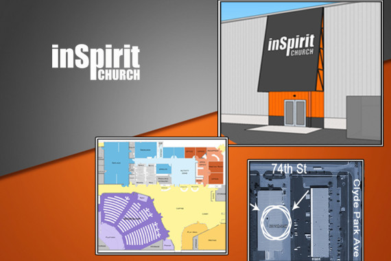 You're Invited! – inSpirit Church – Kickoff Service & Open House 10/11